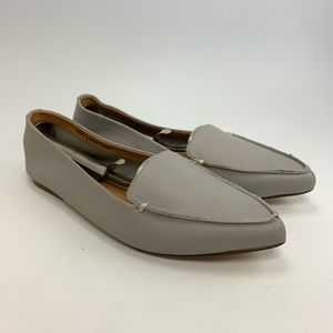 J. Crew Edie leather loafers
